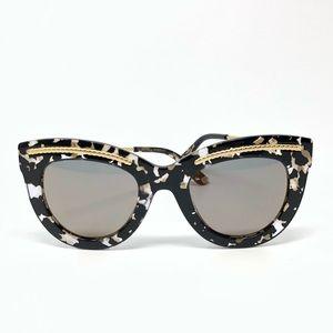 Bottega Veneta Tortoise Cat Eye Sunglasses